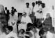 Dr. Ambedkar with Bhante Chandramani during conversion at Deekshabhoomi,  Nagpur 14 October 1956