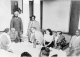 Dr. Ambedkar having a tea at Rajbhoj House - 1950