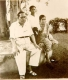 Dr. Ambedkar with his wife Dr. Savita Ambedkar,  servant Sudama and their pet dog