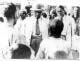 Dr. Ambedkar talking to people as the Labour Minister in the Viceroy's Executive Council at coal mines,  Dhanbad (Jharkhand)